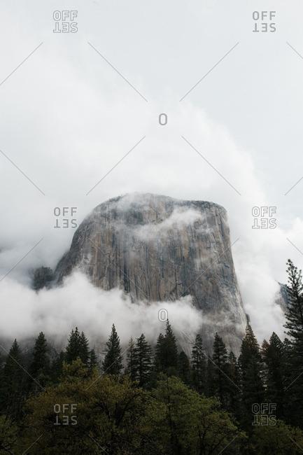 El Capitan in California's Yosemite National Park