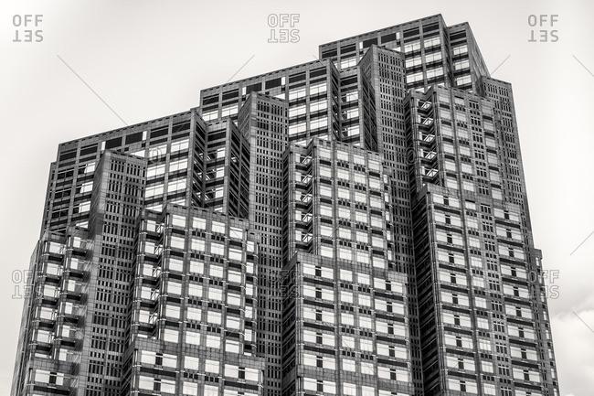 Tokyo, Japan - July 5, 2014: Tokyo Metropolitan Government Building