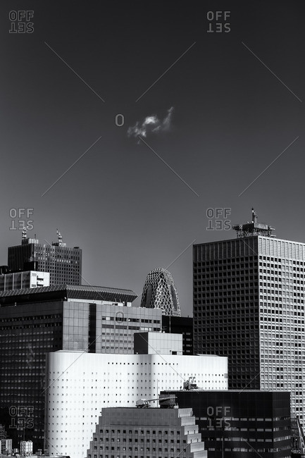 Office buildings, Shinjuku, Tokyo