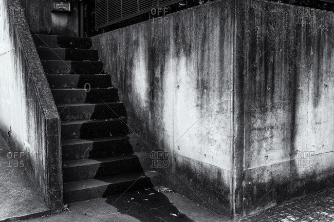 Concrete stairway, Tokyo