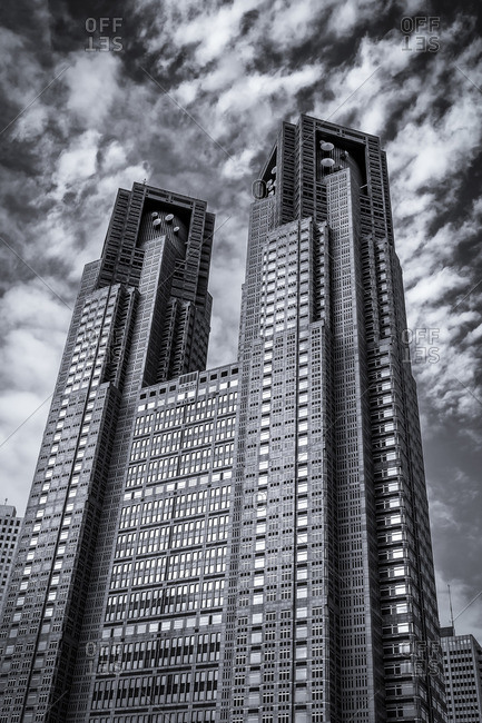 Tokyo, Japan - July 5, 2014: Metropolitan Government Building