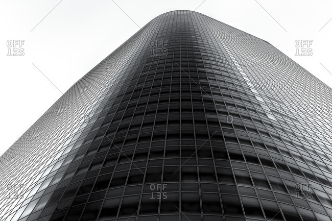 Office tower in Shiodome, Tokyo