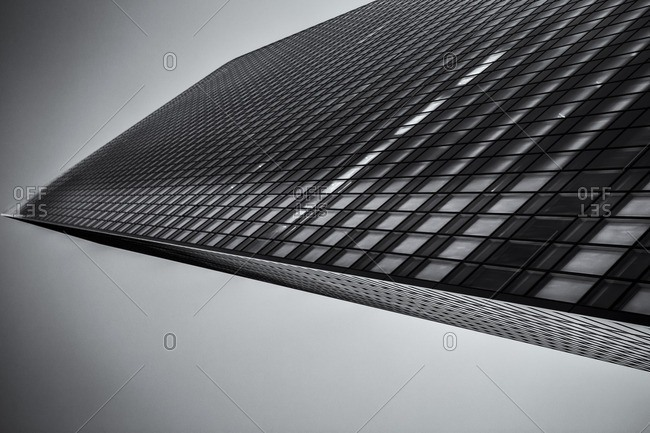 Tall office tower in Tokyo