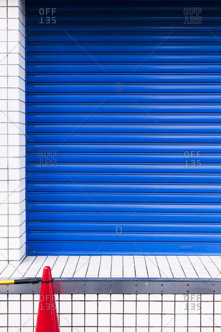 Shutter and cone, Tokyo