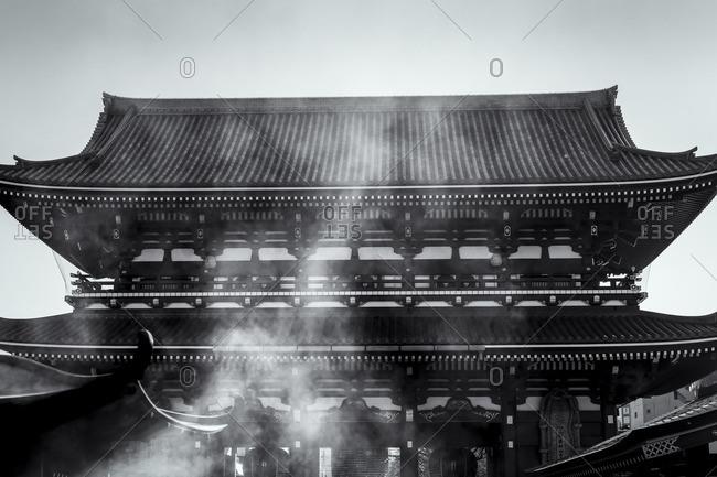 Main temple complex of Senso-ji temple, Tokyo