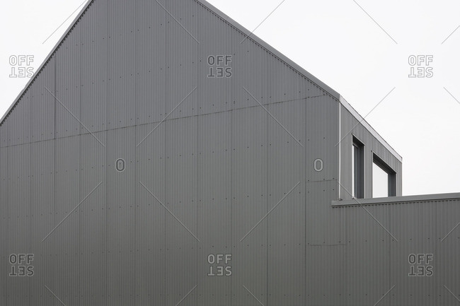 Exterior of an architectural firm in Temse, Belgium