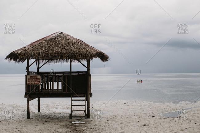 Structure in ocean, Philippines