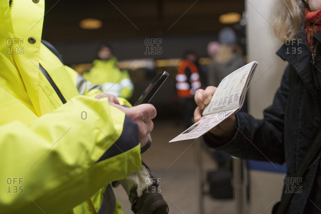 Security photographing passport - Offset Collection