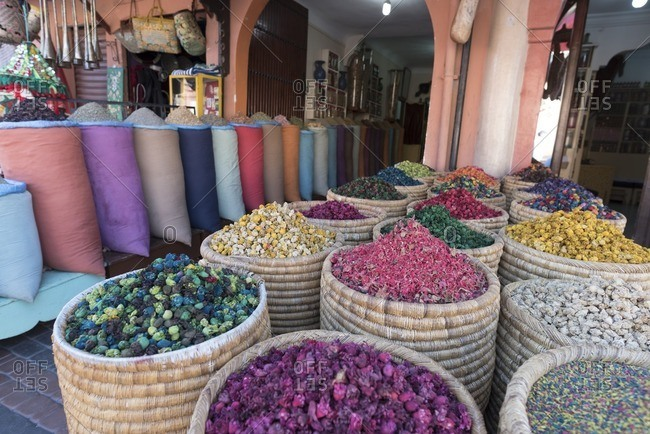 Store in Market, Marrakesh, Morocco
