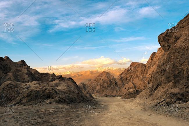 Valle de la Muerte, Cordillera de la Sal, Atacama Desert, Chile