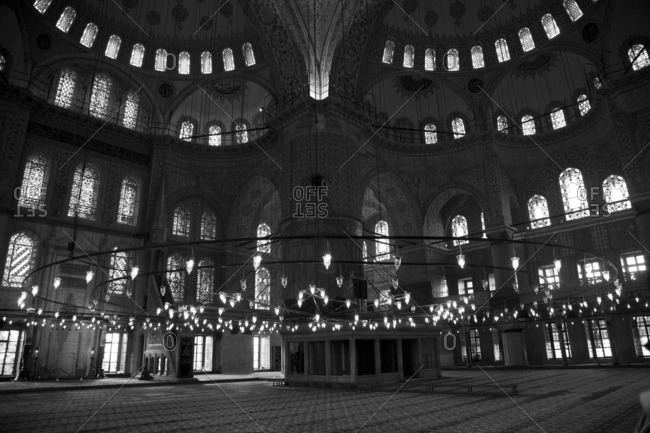 March 15, 2013: The Blue Mosque, Istanbul, Turkey