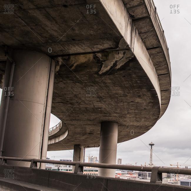 Seattle highway, Seattle, USA - Offset