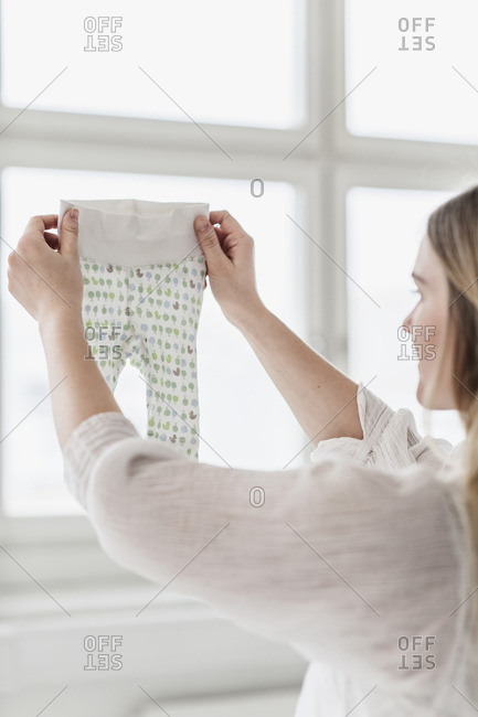 Design checking quality of baby clothes