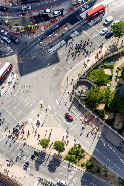 An intersection in London