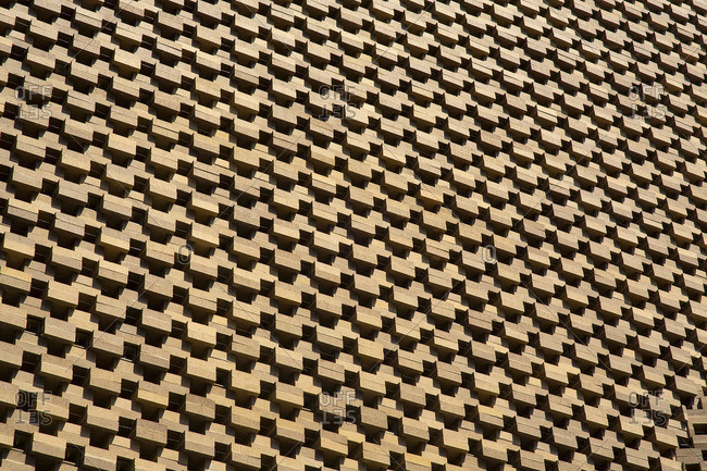 6/9/16: Tate Modern facade in London