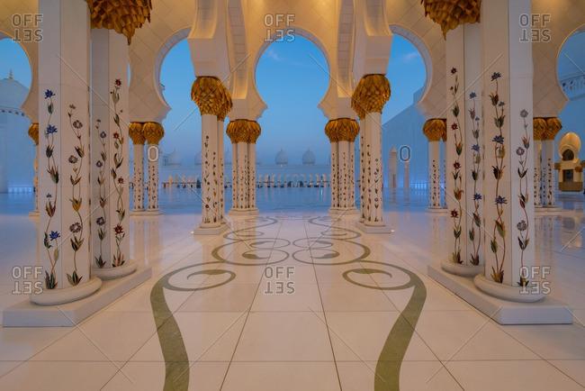 4/27/16: Sheik Zayed Grand Mosque, Abu Dhabi
