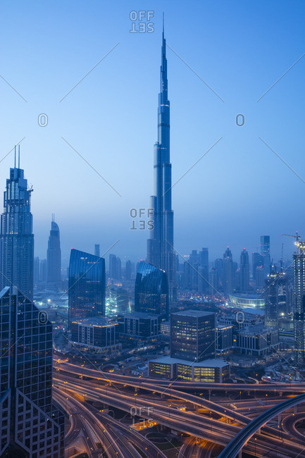 Burj Khalifa from the Offset Collection