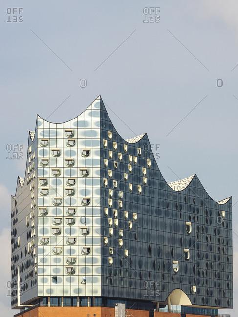 Hamburg, Germany - May 27, 2016:  Elbphilharmonie