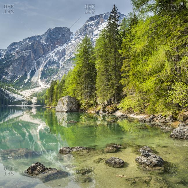 Lake Prags with Seekofel