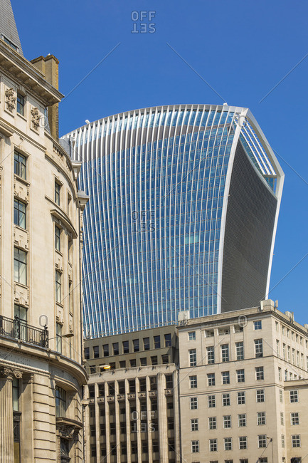6/9/16: The Walkie-Talkie building at 20 Fenchurch Street in London, England