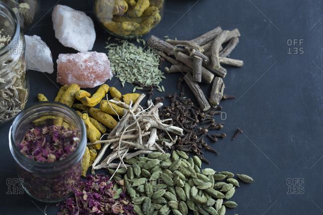 Auryvedic herbs
