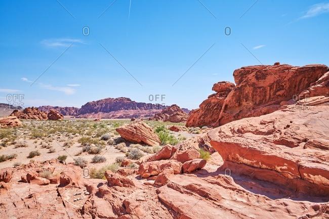 Scenic state park in Nevada