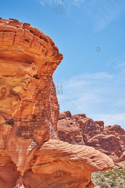 Formations in Valley of Fire State Park, Nevada
