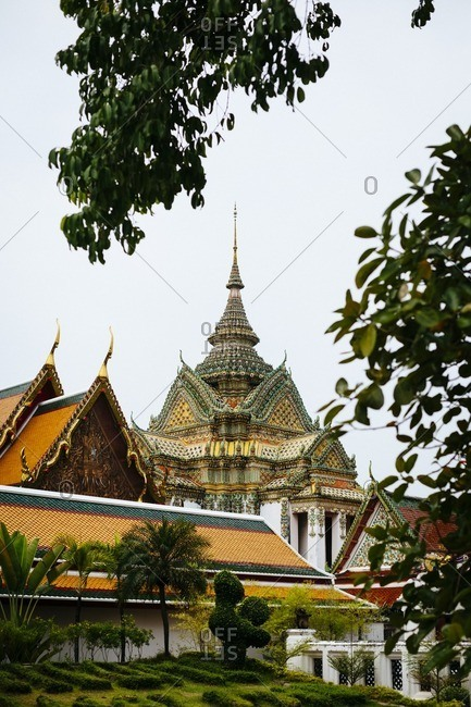 Wat Pho complex in Bangkok, Thailand