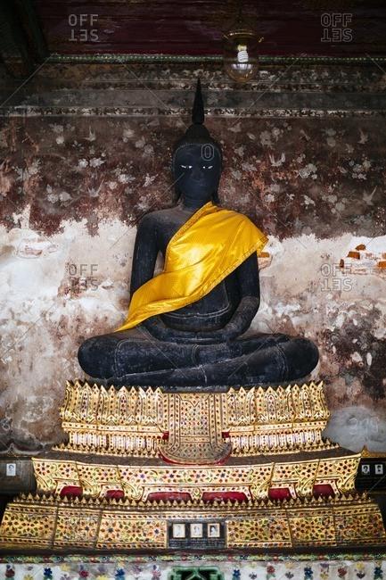 Buddha statue in Wat Suthat, Thailand