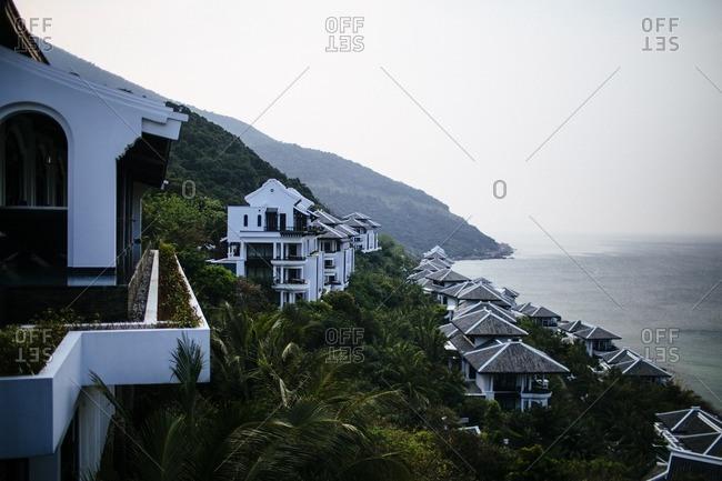 Coastal resort in Dining, Vietnam