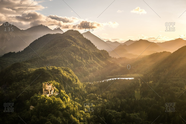 Hohenschwangau Castle in Germany