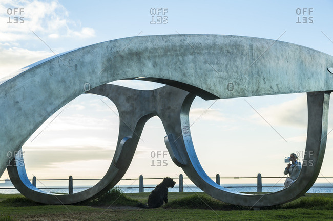 Cape Town, South Africa - April 13, 2015: Sculpture in Cape Town, South Africa