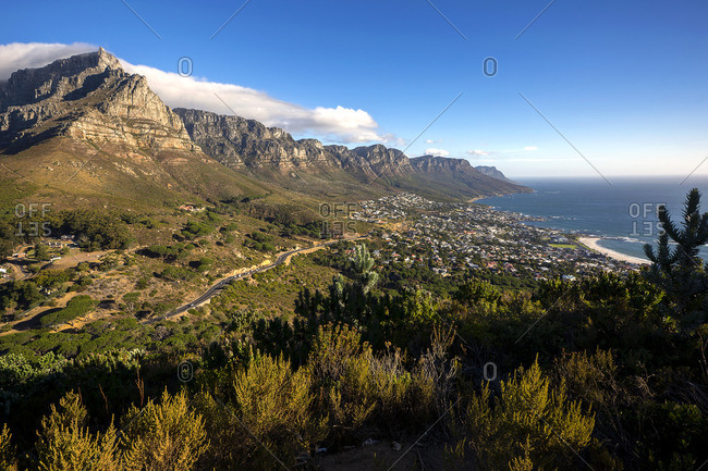 South Africa, Cape Town, Camps Bay, Twelve apostles