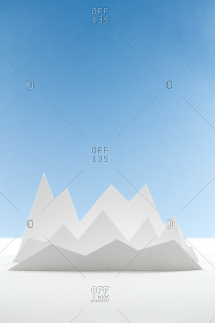 Abstract peak shapes