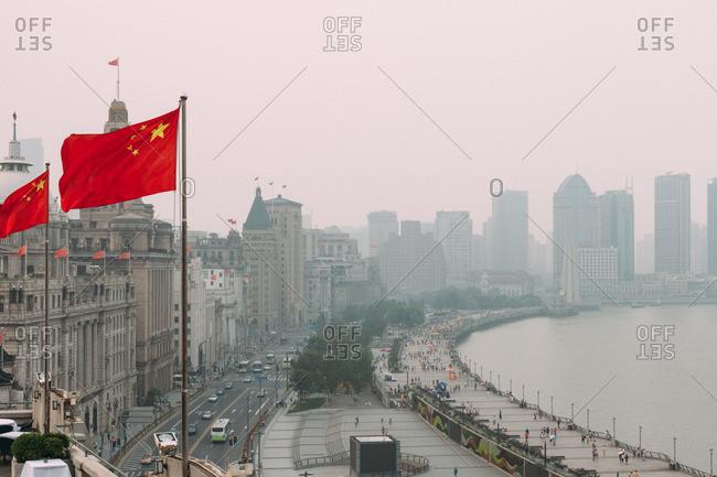 July 10, 2014: The Bund in Shanghai, China
