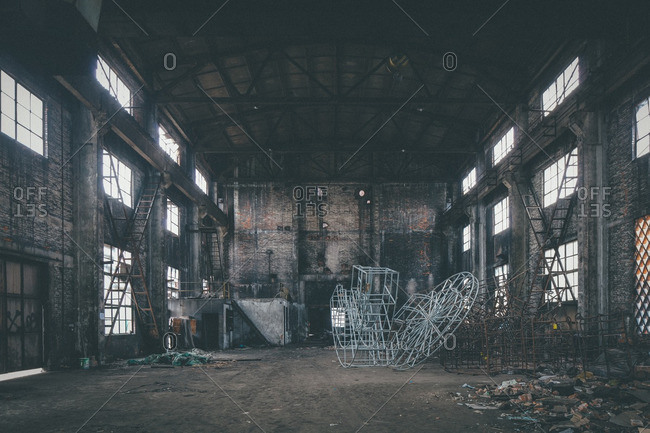 March 5, 2015: Abandoned factory warehouse