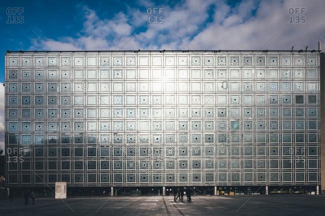 October 9, 2015: Arab World Institute in Paris, France