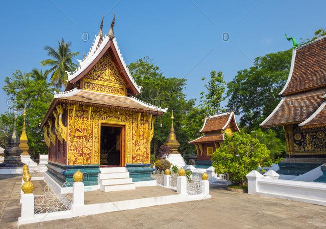 Wat Xieng Thong Buddhist temple, UNESCO World Heritage Site, Luang Prabang, Louangphabang Province, Laos, Indochina, Southeast Asia, Asia