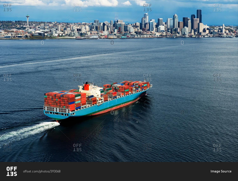 Cargo Ships Travel In Usa
