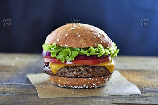 Cheeseburger photo from the Offset Collection