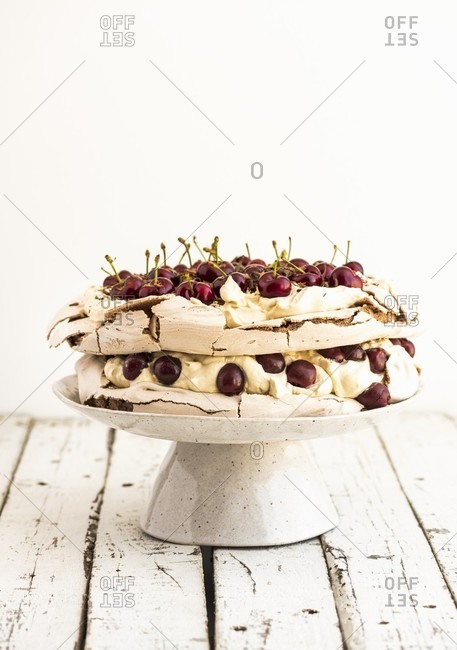 Cherry Pavlova from the Offset Collection