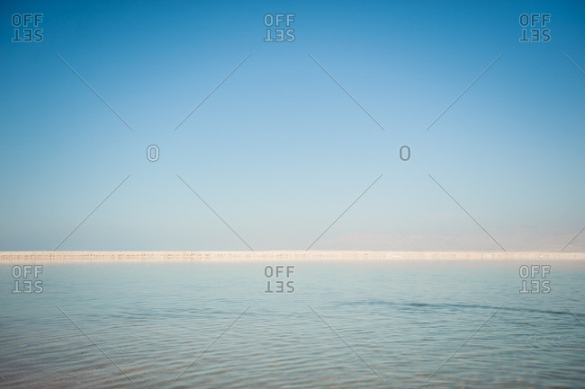 Scenic view of the Dead Sea in Israel