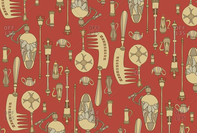 Symbols of decorative arts