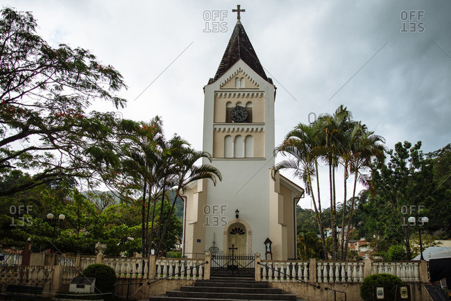 Catholic church in rural Brazil
