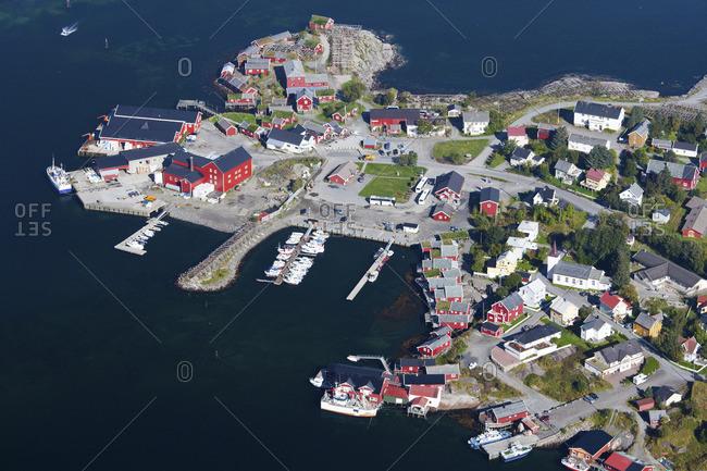 Coastal town in Norway