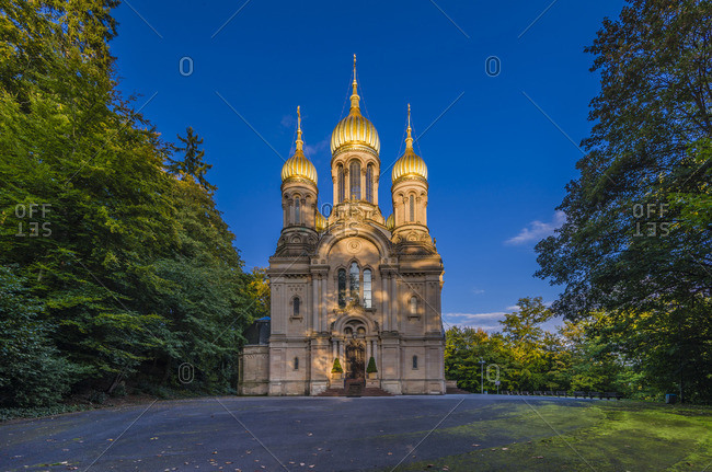 Russian orthodox church, Wiesbaden, Germany