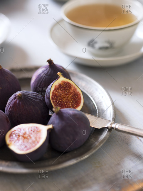 Sweden, Fresh figs and tea