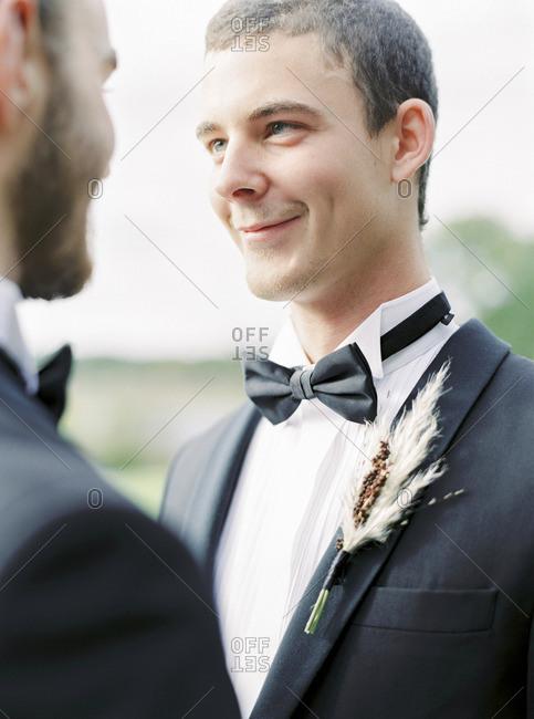 Sweden, Grooms at gay wedding