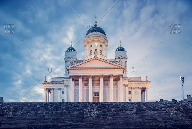 Finland, Helsinki, Krohohagen, Helsinki Lutheran Cathedral