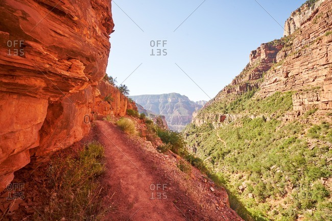 Trail in the Grand Canyon